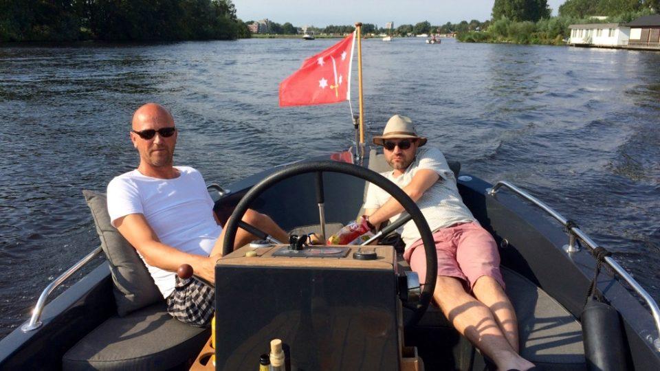 Ontspannen varen door Haarlem
